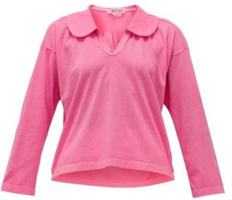 Comme des Garçons Comme des Garçons Peter Pan-collar Cotton-jersey Shirt - Pink