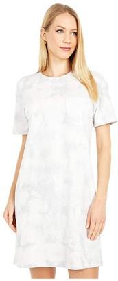 Madewell Tie-Dye Tee Dress (Steam) Women's Clothing