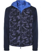 Armani Jeans Reversible Hooded Camo Jacket