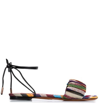 Missoni Striped Lace-Up Sandals