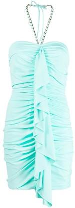 Amen Halterneck Mini Dress