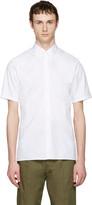 Jil Sander White Pointy Collar Shirt