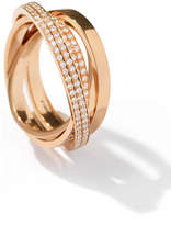 Repossi Technical Berbè;re Diamond Ring in 18K Rose Gold