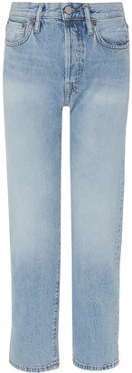 Acne Studios Washed straight leg jeans