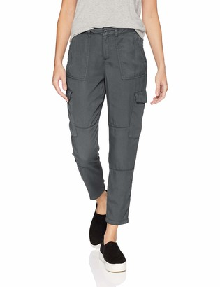 Daily Ritual Amazon Brand Women's Lyocell Patch Pocket Cargo Pant