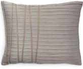 "Donna Karan Home Reflection Silver 16"" x 20"" Decorative Pillow"