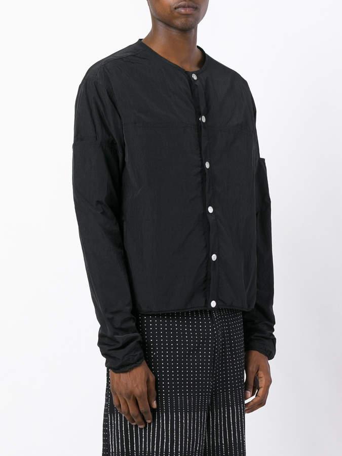 Telfar collarless jacket