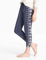 Lucky Brand Bandana Printed Pant
