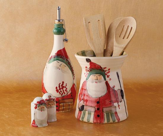 Napa Style Babbo Natale Italian Kitchen Ceramics
