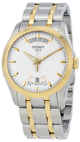 Tissot T-Trend Couturier White Dial Men's Watch, 39mm