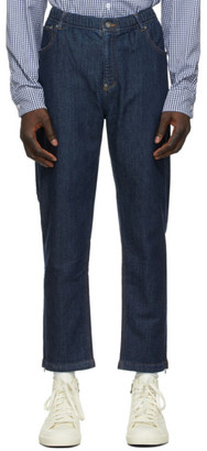 adidas x Human Made Navy Track Pant Jeans
