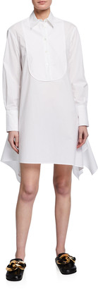 J.W.Anderson Asymmetric Bib Shirtdress