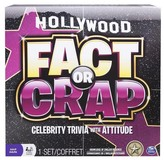Spin Master Toys Spin Master Hollywood Fact or Crap Celebrity Edition Trivia Game