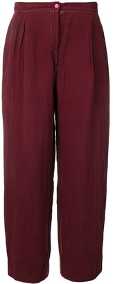 Krizia Pre Owned 1970's Loose Trousers