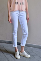 MiH Jeans High Rise Cropped Jeans