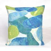 Liora Manné Visions III Seaglass Throw Pillow in Aqua