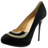 Ernesto Esposito Tilpi Round Toe Leather Heels.