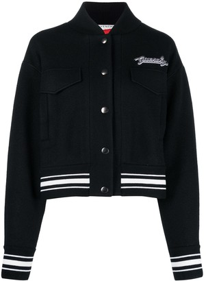 Givenchy Logo Patch Varsity Jacket