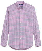 Big & Tall Polo Ralph Lauren Checked Cotton Poplin Shirt