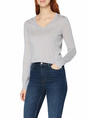Meraki Amazon Brand Women's Fine Merino Wool V-Neck Jumper