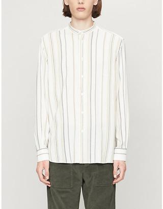 Barena Striped woven shirt