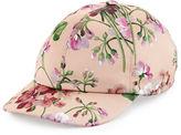 Gucci Floral Satin Baseball Cap