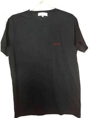 Maison Labiche Black Cotton Top for Women