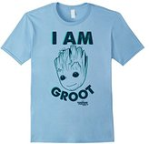 Marvel Groot Guardians of Galaxy 2 Secret Graphic T-Shirt