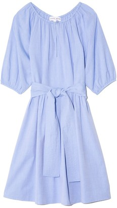 Apiece Apart Marian Mini Dress in Chambray