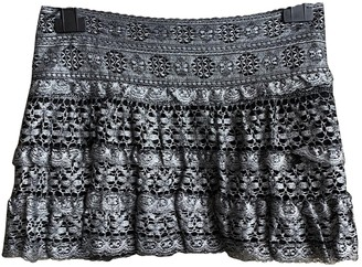 Isabel Marant Silver Cotton Skirts