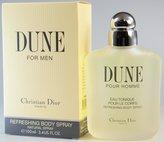 Christian Dior Dune Homme - 3.4 fl. oz. 100ml Refreshing Body Spray