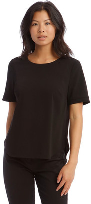Basque Short Sleeve Top