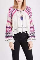 Free People Dreamland Laid Back Cardigan
