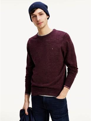Tommy Hilfiger Heathered Crewneck Sweater