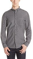 Kenneth Cole New York Kenneth Cole Men's Single Pocket Check Shirt