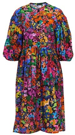 Thumbnail for your product : Stine Goya India midi dress