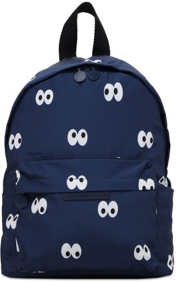 Stella McCartney Kids Eyes Print Recycled Poly Backpack