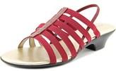 Karen Scott Estevee Open Toe Canvas Sandals.