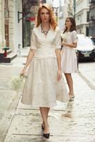 Shabby Apple Uptown Skirt Cream