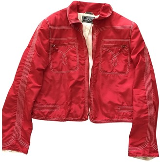 Gianni Versace Red Jacket for Women Vintage