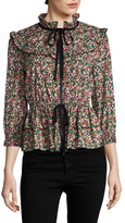 Anna Sui Strawberry Fields Jacket