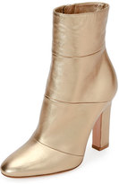 Gianvito Rossi Metallic Leather 105mm Boot, Glam