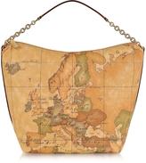 "Alviero Martini 1a Prima Classe - Geo Printed Medium ""Contemporary"" Shoulder Bag"
