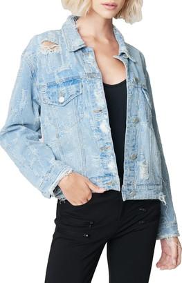 Blank NYC Distressed Denim Jacket