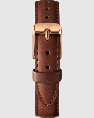 Daniel Wellington Leather Strap St Mawes 12mm Watch Band - For Petite 28mm