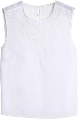 Rag & Bone Broderie Anglaise Cotton Top