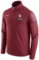 Nike Men's Oklahoma Sooners Elite Coaches Dri-FIT Pullover