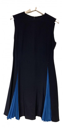 Miu Miu Blue Silk Dresses
