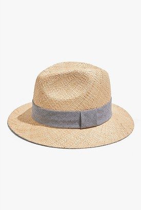 Country Road Puppytooth Panama Hat