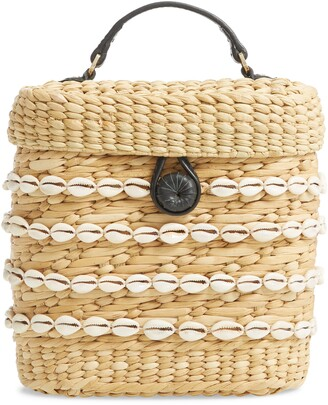 Poolside The Ashleigh Canteen Woven Clutch